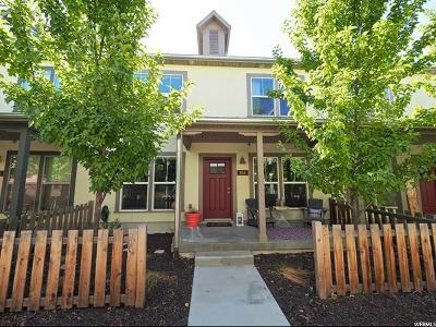 Midvale Townhouse For Sale: 856 W Pantani Ct S #119