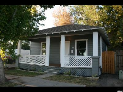 Salt Lake City Single Family Home For Sale: 23 E Cleveland Ave