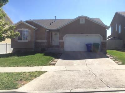 West Jordan Single Family Home For Sale: 7051 W Saw Timber Way S