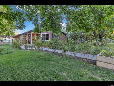 Cottonwood Heights Single Family Home For Sale: 1726 E 7200 S