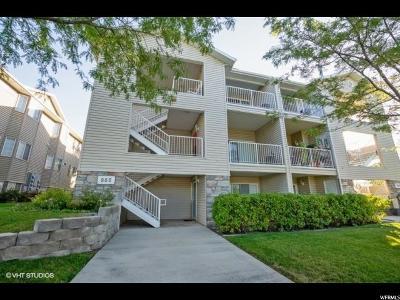 Salt Lake City Condo For Sale: 966 W Big River Ct #1
