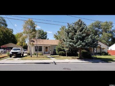 Murray Single Family Home For Sale: 4640 S Box Elder St