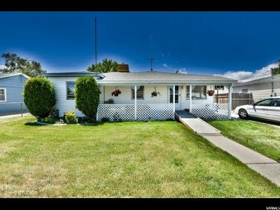 Salt Lake City Single Family Home For Sale: 4141 W 5655 S