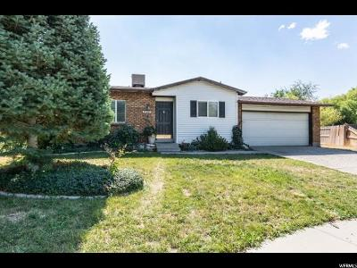 West Valley City Single Family Home For Sale: 5279 W Grovewood Cir