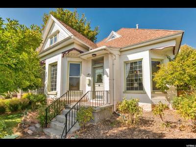 Salt Lake City Single Family Home For Sale: 511 E 4th Ave