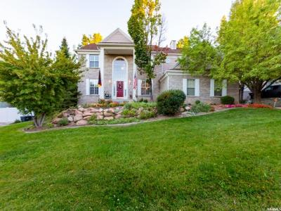 South Jordan Single Family Home For Sale: 4437 W Glenmoor Hills Dr S
