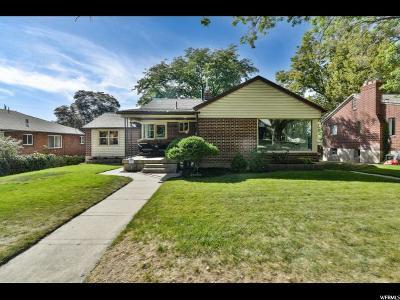 Salt Lake City Single Family Home For Sale: 2684 S Wellington St E