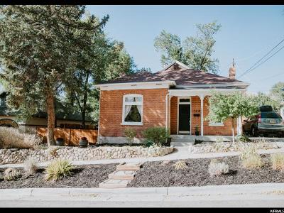 Salt Lake City Single Family Home For Sale: 144 W 400 N