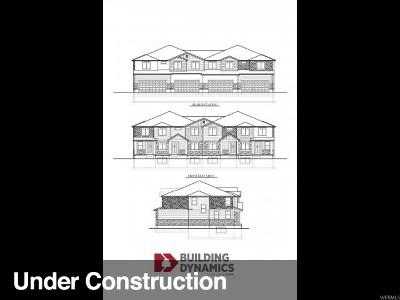 Lehi Townhouse For Sale: 4439 W Glendon Dr #356
