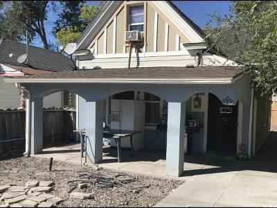 Salt Lake City Single Family Home For Sale: 924 W 900 S