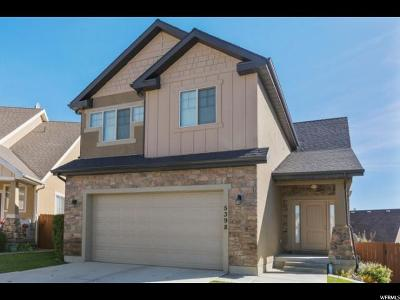 Lehi Single Family Home For Sale: 5398 N Bear Ridge Way