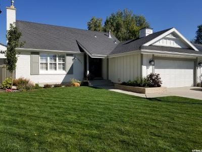 Murray Single Family Home For Sale: 1331 E Rainsborough Rd