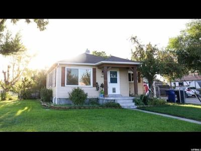 Salt Lake City Single Family Home For Sale: 5225 S 4420 W