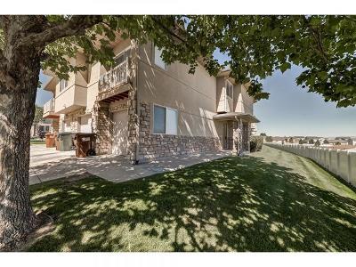 West Jordan Townhouse For Sale: 6604 W Ivy Terrace Ct S
