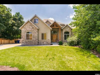 Holladay Single Family Home For Sale: 1852 E Frontier Rd