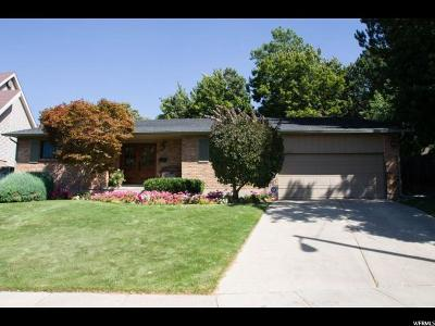 Holladay Single Family Home For Sale: 4229 S Quinette Ln. E