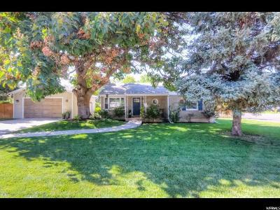 Salt Lake City Single Family Home For Sale: 3310 S 1885 E