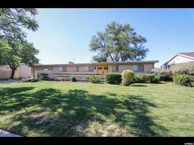 Salt Lake City Single Family Home For Sale: 4756 S Quail Point Rd E