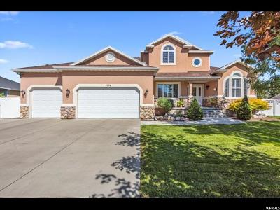 Murray Single Family Home For Sale: 1156 W Autumn Bluff Dr