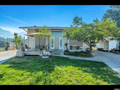 Provo UT Single Family Home For Sale: $275,000