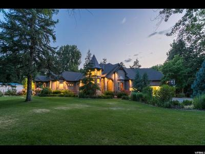 Cottonwood Heights Single Family Home For Sale: 7700 S Forest Bend Dr E