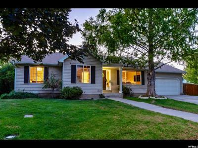 Provo UT Single Family Home For Sale: $260,000