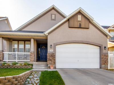 West Jordan Single Family Home For Sale: 7528 S Sunset Maple Drive W