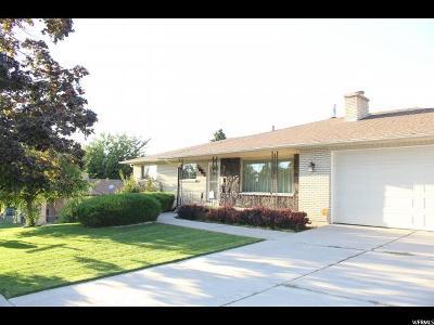 Springville Single Family Home For Sale: 1087 E 100 N