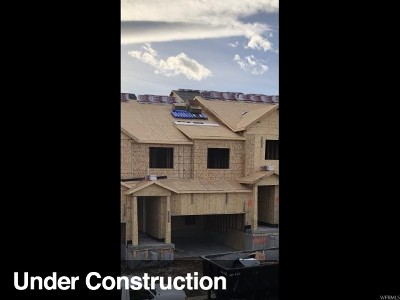 Herriman Townhouse For Sale: 4341 W Nash Ln #118