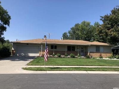 Salt Lake City Single Family Home For Sale: 5926 S Lupine Way