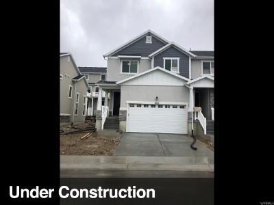 Herriman Townhouse For Sale: 4353 W Nash Ln #121