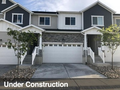 Herriman Townhouse For Sale: 4357 W Nash Ln #122