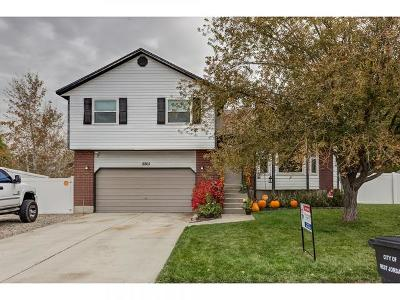 West Jordan Single Family Home For Sale: 8805 S 3760 W