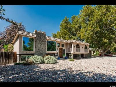 Salt Lake City Single Family Home For Sale: 4860 Colony Dr