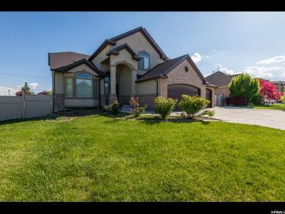 South Jordan Single Family Home For Sale: 3011 W Chalk Creek Way