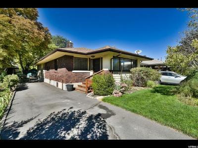Salt Lake City Single Family Home For Sale: 1988 S Lake St E