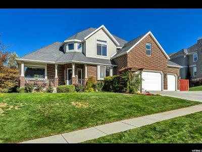Lindon Single Family Home For Sale: 1375 E Canberra Dr