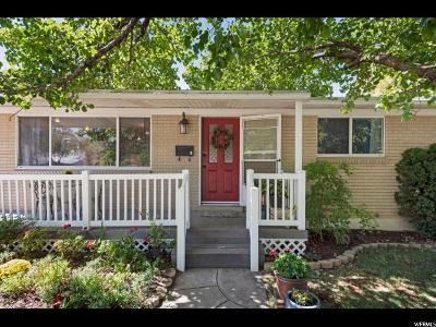 Murray Single Family Home For Sale: 5670 Hillside Dr
