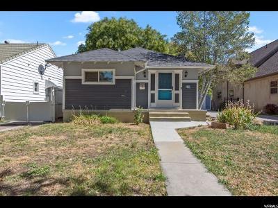 Salt Lake City Single Family Home For Sale: 2807 S Chadwick St E