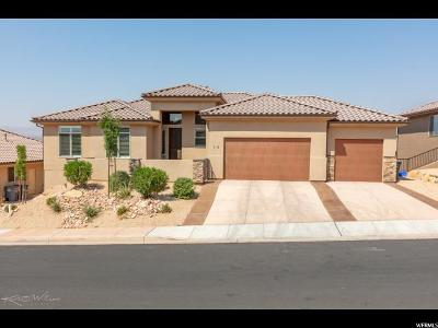 St. George Single Family Home For Sale: 1795 N Snow Canyon Pkwy W #18
