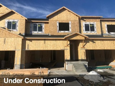Lehi Townhouse For Sale: 1747 N 3720 W #1009