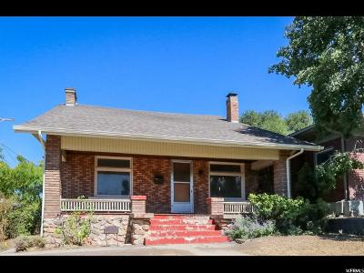 Salt Lake City Single Family Home For Sale: 1325 E Browning