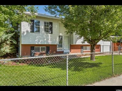 Salt Lake City UT Single Family Home For Sale: $335,000