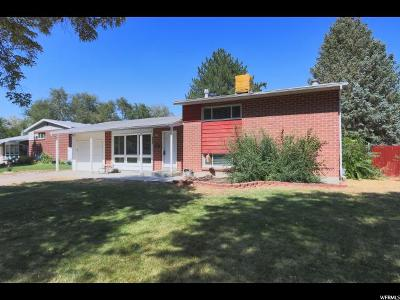 Salt Lake City Single Family Home For Sale: 1552 W Dupont Ave N