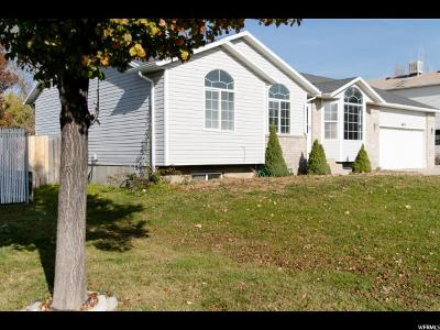 Single Family Home For Sale: 662 W 1860 N
