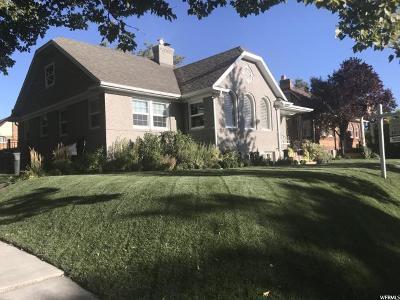 Single Family Home For Sale: 1201 S 1500 E