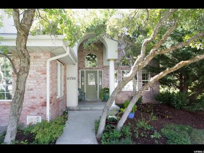 Single Family Home For Sale: 11738 S Shady Oak Ln