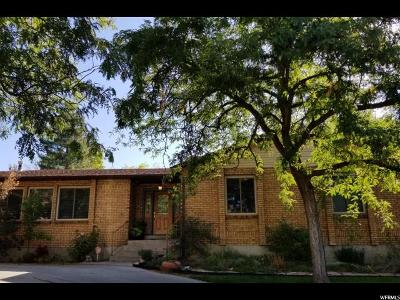 Murray Single Family Home For Sale: 313 E Shamrock Dr