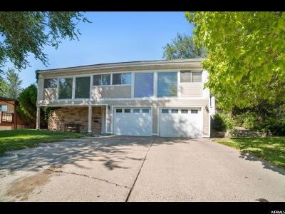 Salt Lake City Single Family Home For Sale: 3463 E Cummings Rd S