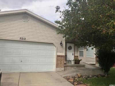 West Jordan Single Family Home For Sale: 5212 W 7000 S